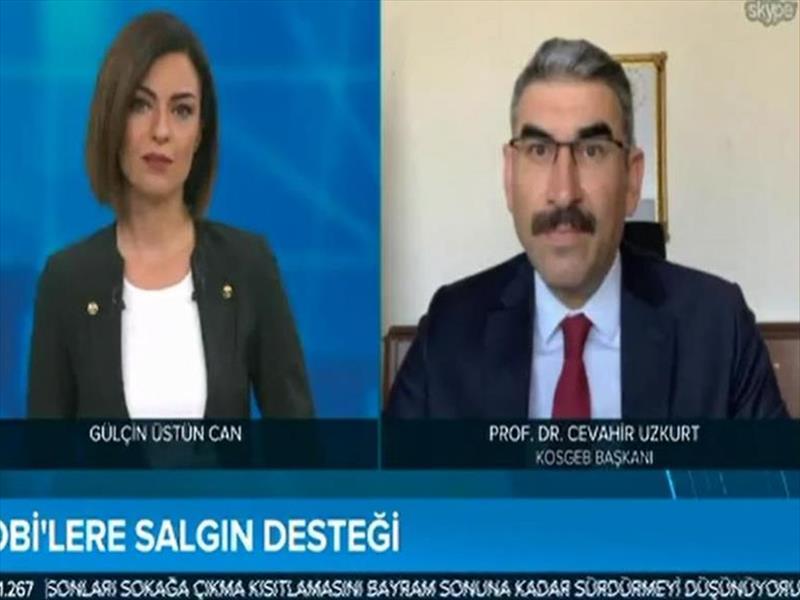"""KOSGEB Başkanı Prof. Dr. Uzkurt: """"KOBİ'ler Dijitalleşme Sürecini Çok Kısa Sürede Tamamlamalı"""""""